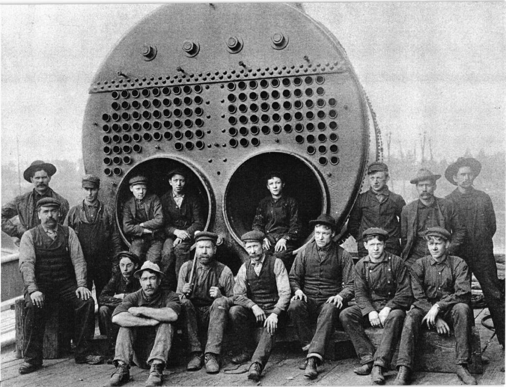 Pre 1940 Boiler